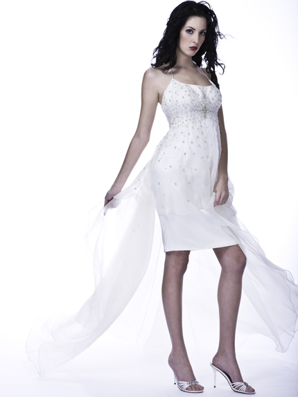 Short Bridal Gown