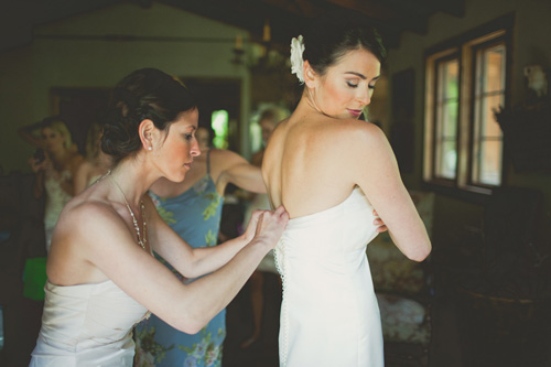 Mermaid Wedding Gown - Vineyard by Sarah Houston