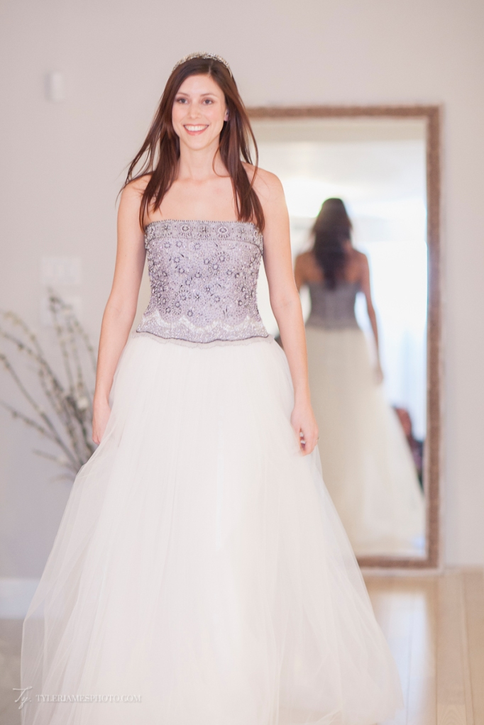 Beaded Ballgown wedding dress