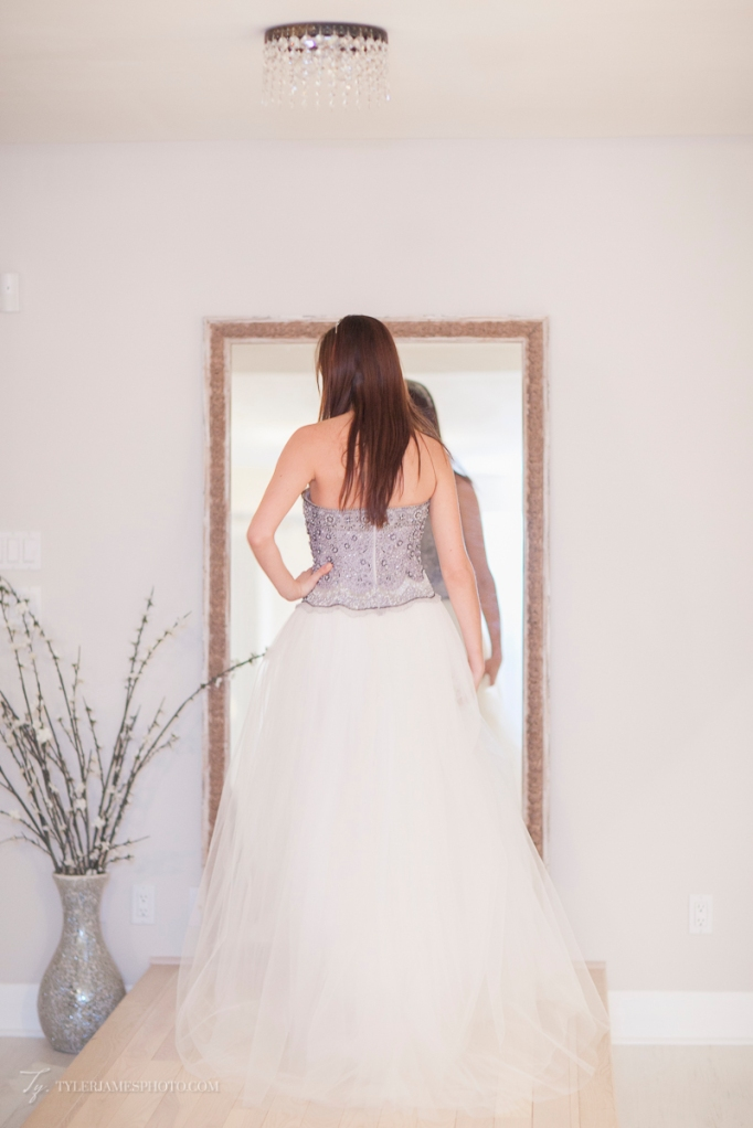 Ballgown bridal dress