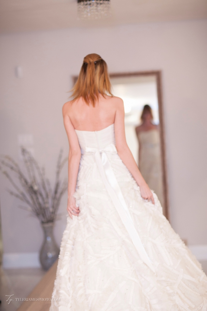 Textured Ballgown Wedding Dress