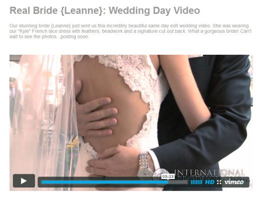 Bride Wedding Video Toronto